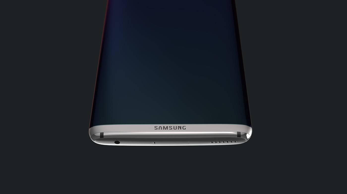 Galaxy S8-ის კონცეპტი (რეალური დიზაინი არ არის)